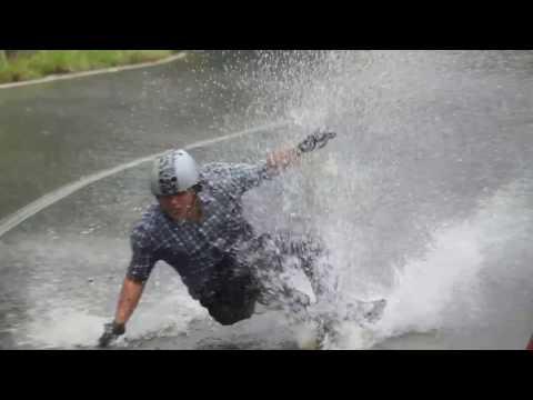 Longboard Downhill: Carretera vieja Caracas - La Guaira Venezuela