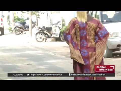 Senegal's traditional dyers giving clothes a new lease of life