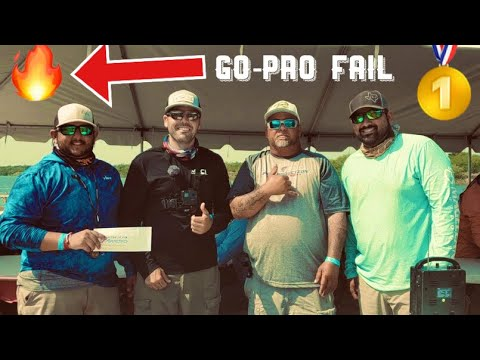 1ST PLACE REDFISH (GoPro Overheated) - Arroyo City FISHING TOURNAMENT 2019