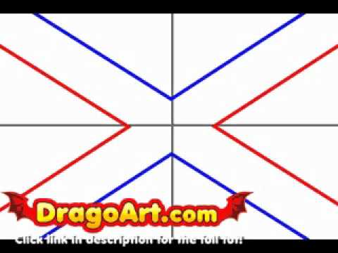 how to draw the confederate flag step by step