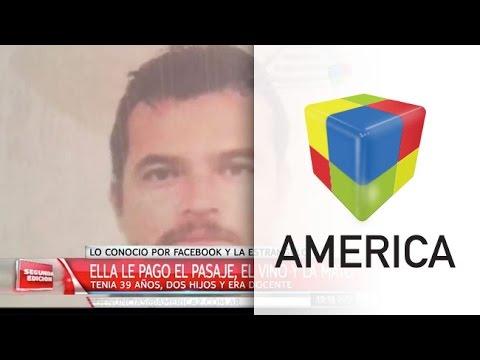 Una docente fue estrangulada y buscan a un mexicano que conoció por Facebook