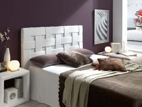Catalogo de muebles auxiliares tapizados (cabezales, arcones ...