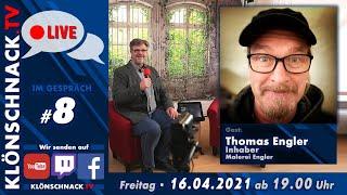 """""""Im Gespräch"""" mit Thomas Engler, Inh. Malerei Engler"""