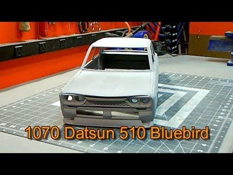 Make It Rc Datsun Bluebird 6 Spoiler Door Handles And Windows