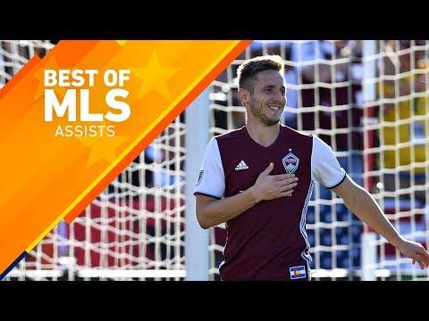 Top 5 Assists in MLS 2017