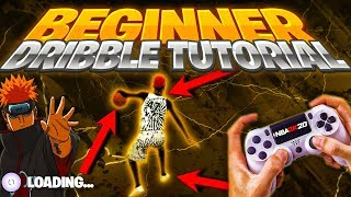 THE #1 BEST DRIBBLE GOD TUTORIAL FOR BEGINNERS W/HANDCAM | HOW TO DO EFFICIENT EASY COMBOS NBA 2K20