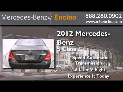 2012 Mercedes Benz Encino CA 91436