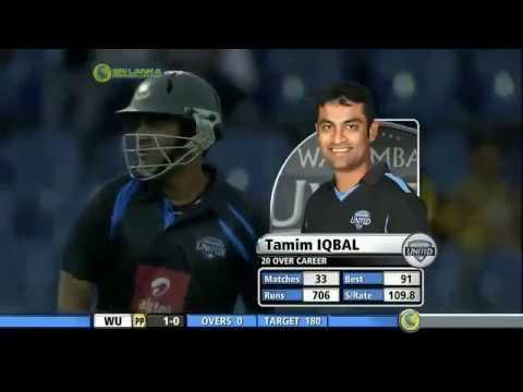 Tamim Iqbal 93*  Not Out In Srilankan Premier League