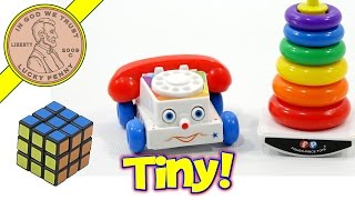 Worlds Smallest Toys That You Can Play With!  Fisher Price, Rubik