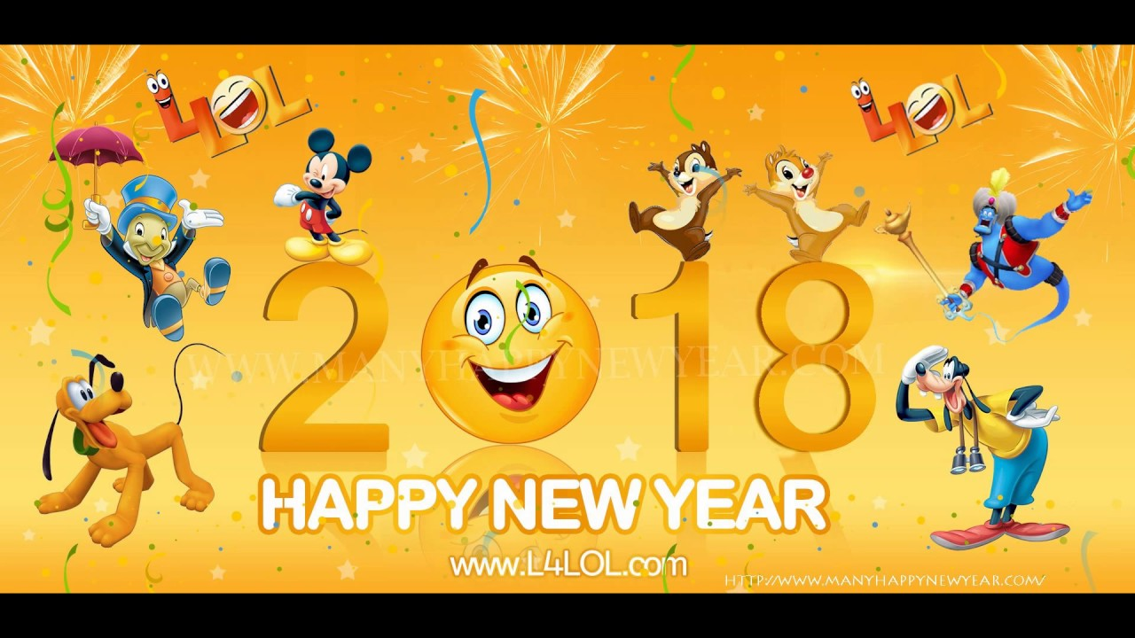 poster of happy new year 2018
