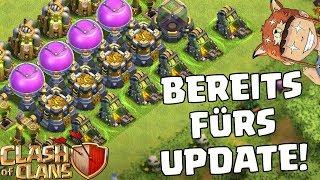 BEREIT FÜRS UPDATE! ☆ Clash of Clans ☆ Oktober Update! ☆ CoC