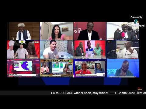 Ghana 2020 Presidential Election Results Live (LATEST UPDATE)