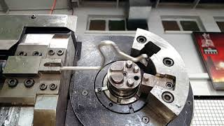 CNC-3D Wire Bending Machine in Action!!