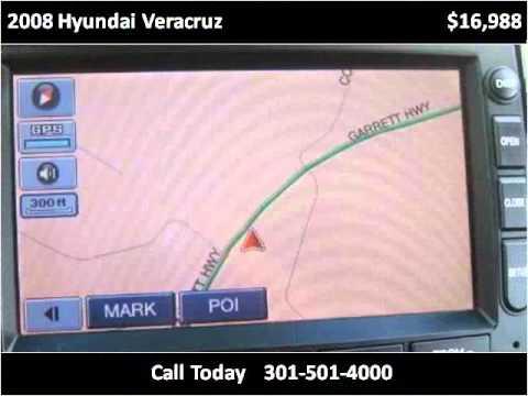 2008 Hyundai Veracruz Used Cars Accident MD
