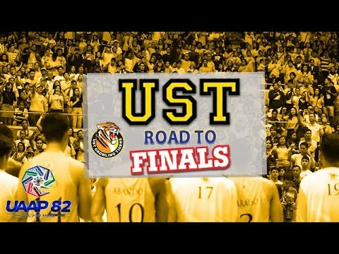UST Growling Tigers' Road to Finals | UAAP 82 MB