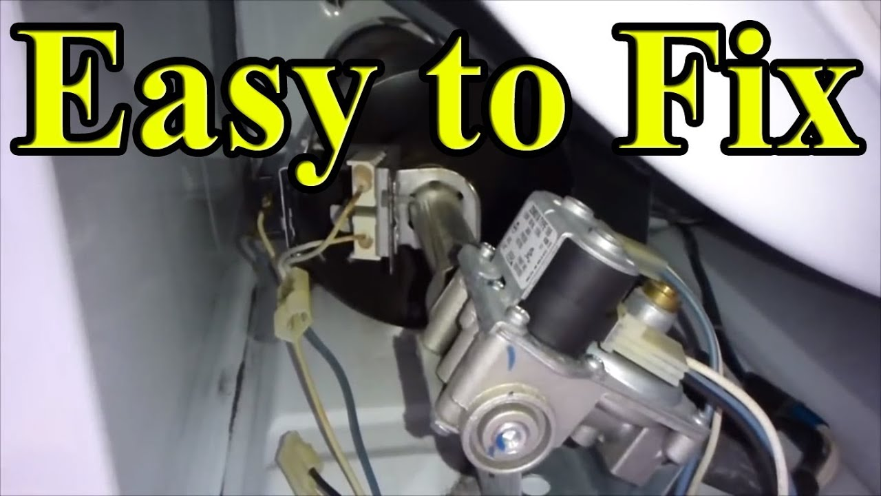 How To Fix Your Gas Dryer That Is Not Heating Up Part 2 Front Kenmore Whirlpool Electric Schematic And Motor Wiring Old Style Panel Youtube
