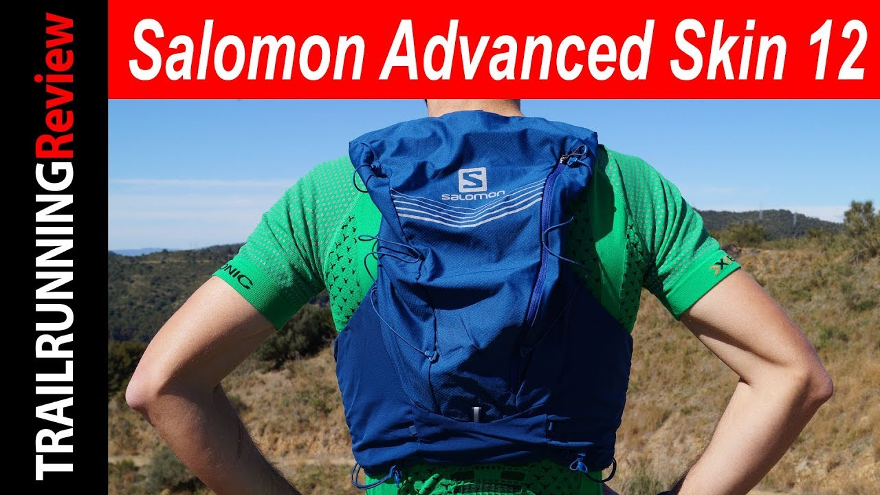 Salomon Advanced Skin 12 Set d/'hydratation sac à dos-Rouge