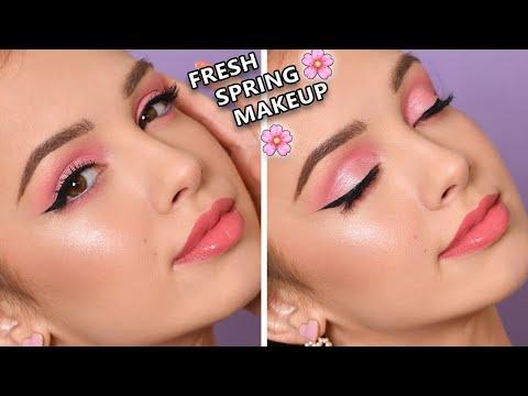 simple-pink-smokey-eye---spring-makeup-tutorial