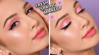 SIMPLE PINK Smokey Eye - Spring Makeup Tutorial