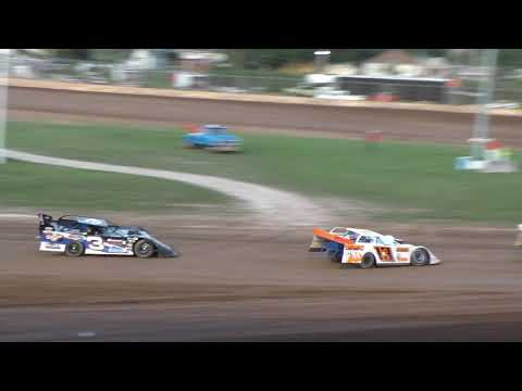 Plymouth Dirt Track Late Model Heats 8-23-2019