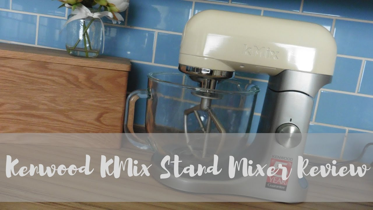 Kenwood Kmix Stand Mixer Review Youtube