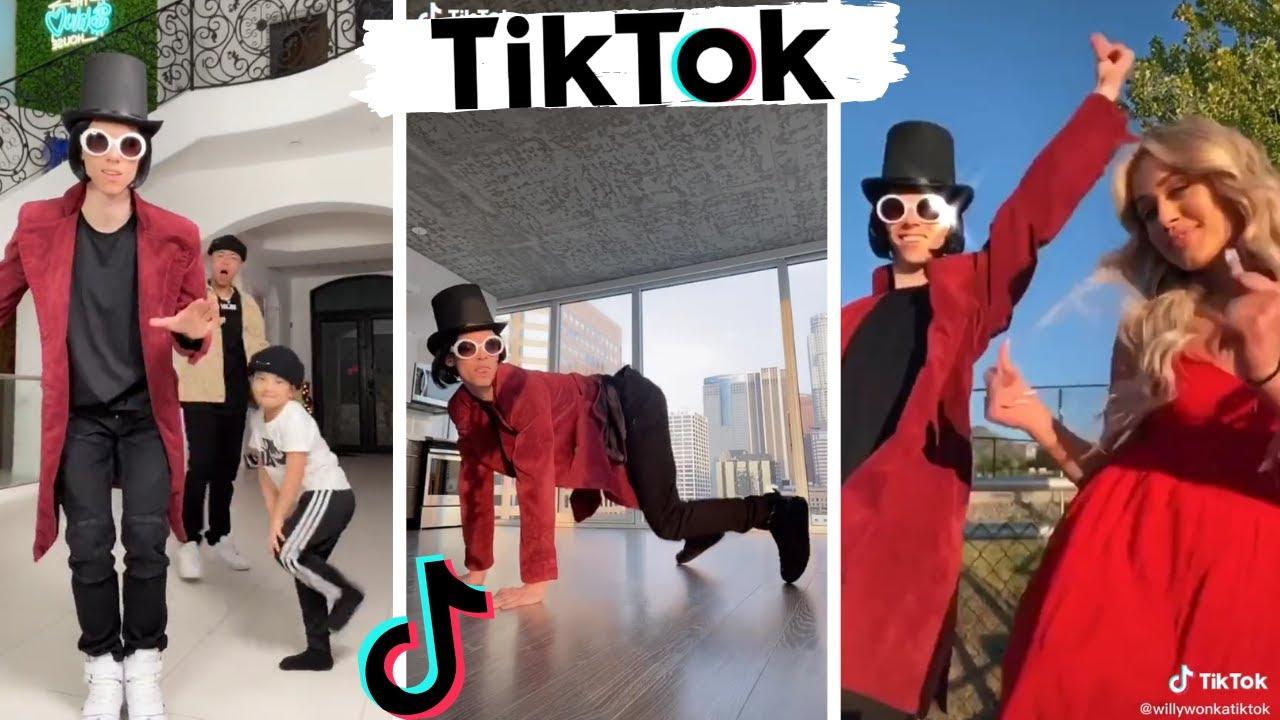 Best of Willy Wonka TikTok Dance Compilation ~ WillyWonkaTikTok!