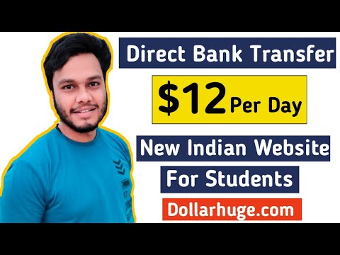 Earn $12 Per Day! Make money online from Indian Website Dollarhuge.com   Work from Home jobs