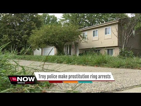 Troy police make prostitution ring arrests
