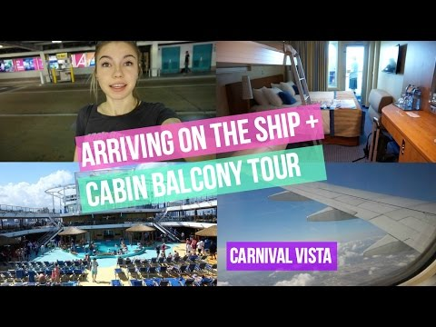 CARNIVAL VISTA CRUISE VLOG 2017! | DAY 1