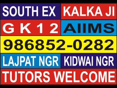 South Delhi Home Tutors (ESTD:1986)- 880202-0282::986852-0282
