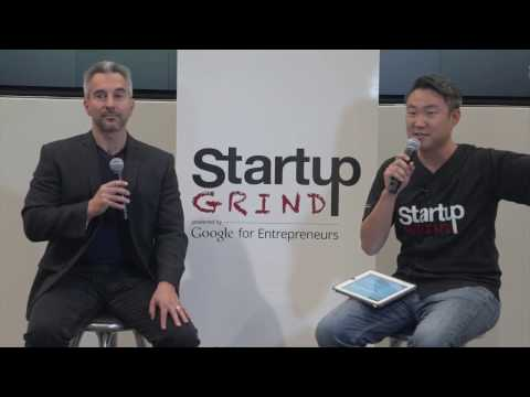Ron Gula of Tenable Network Security at Startup Grind DC