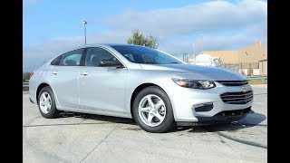 2017 Chevy Malibu LS Complete Review with Test Drive