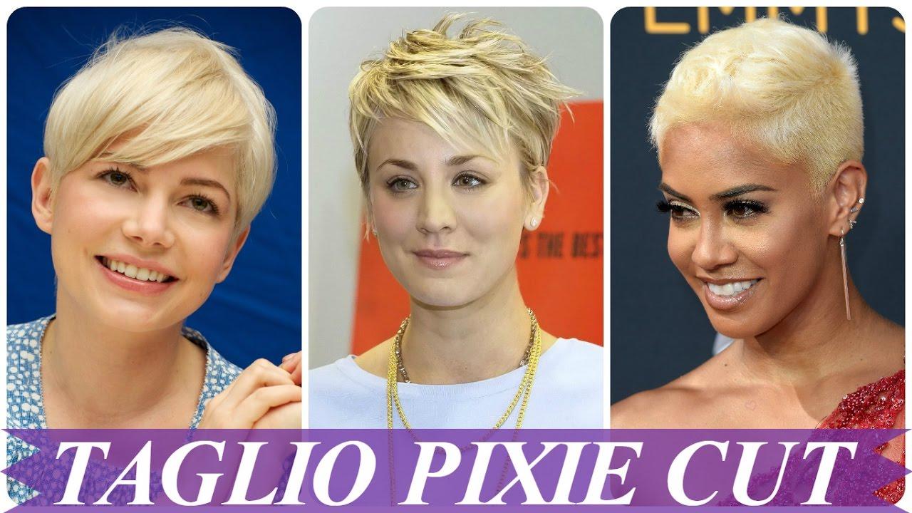 Tagli capelli biondo platino