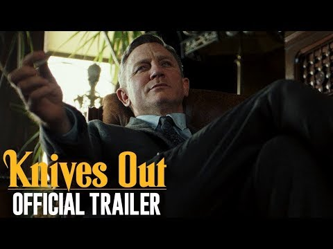 Knives Out (2019 Movie) Official Trailer — Daniel Craig, Chris Evans, Jamie Lee Curtis