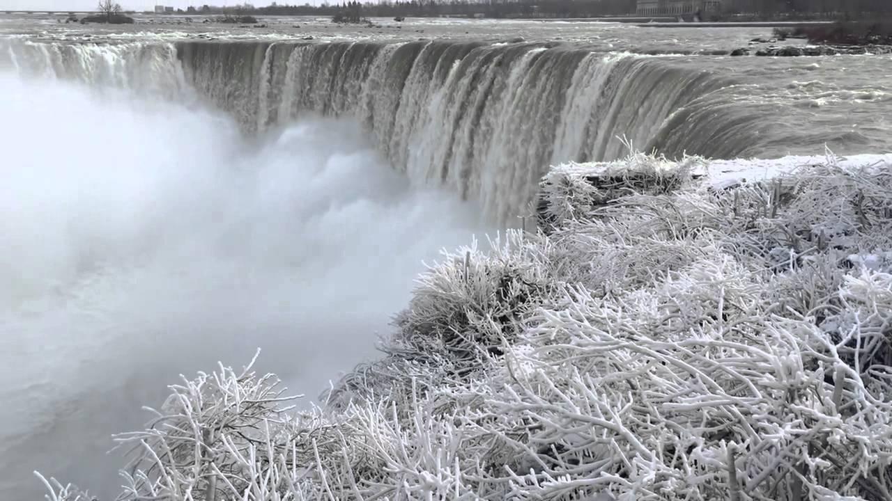 Wallpaper Hello Fall Iphone 6 Video Recording Niagara Falls Winter 2015 Youtube
