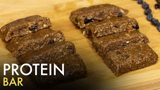 Soya Protein Bar   How to Make Protein Bars   Healthy Energy Bars   Food Tak