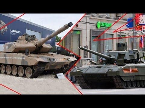 «Армата» против «Леопарда»: The National Interest сравнило возможности двух танков