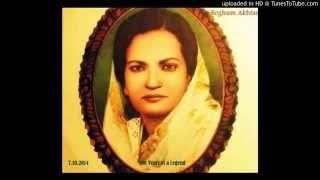 Babul Mora Naihar Chhooto Jaaye - Beghum Akhtar version