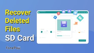How to Recover Deleted Files from SD Card - Memory Card Recovery