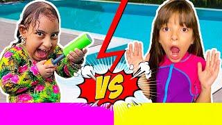 Tipos de crianças na piscina Laurinha e Helena (FT MC Divertida, Gatinha das Artes e Jessica Sousa)