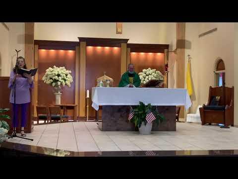 Weekend Mass September 12 & 13, 2020