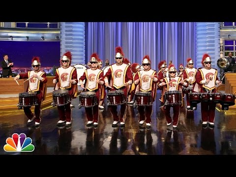 Audience Suggestion Box: USC Drumline Plays with Questlove