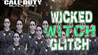 Black Ops 2 *Buried* : Crazy Witches Glitch