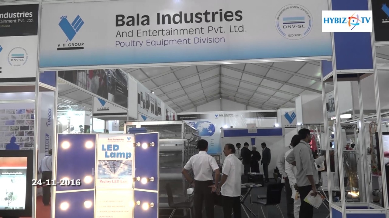 Bala Industries And Entertainment | Poultry India 2016 - hybiz