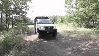 Пробная поездка УАЗ КАРГО