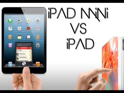 iPad mini vs iPad [3rd Generation] Comparison