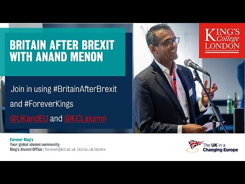 Britain after Brexit - with Anand Menon
