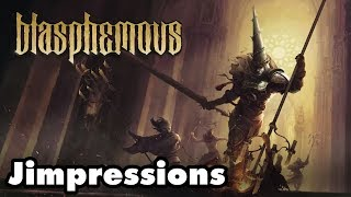 Blasphemous - Deliciously Macabre Misery (Jimpressions) (Video Game Video Review)