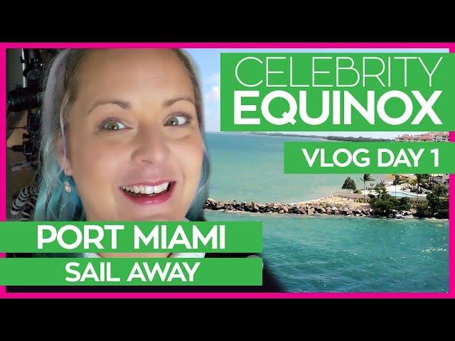 Cruising Like a Celebrity | Celebrity Equinox Cruise Vlog Day 01