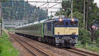 電気機関車EF64(3) ~配給列車 E235系新製配給 上越線~